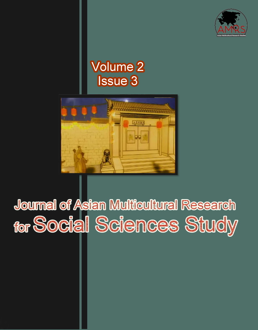 View Vol. 2 No. 3 (2021): Journal of Asian Multicultural Research for Social Sciences Study
